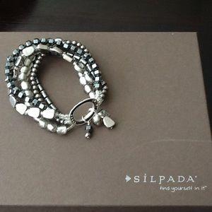 Silpada B1935 Hailstone Stretch Bracelet